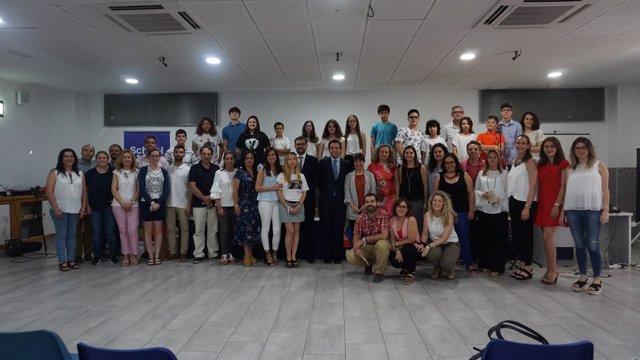 Alumnos que han presentado sus proyectos con 'School & Talent'