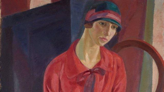 Mujer de rojo de Daniel Vázquez