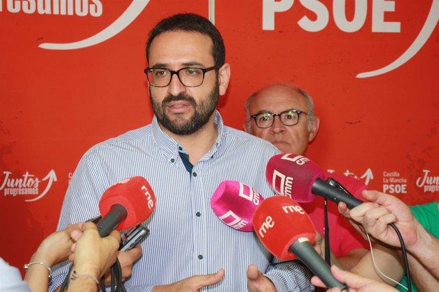 Sergio Gutiérrez, PSOE, reunido con José María Fresneda, Asaja