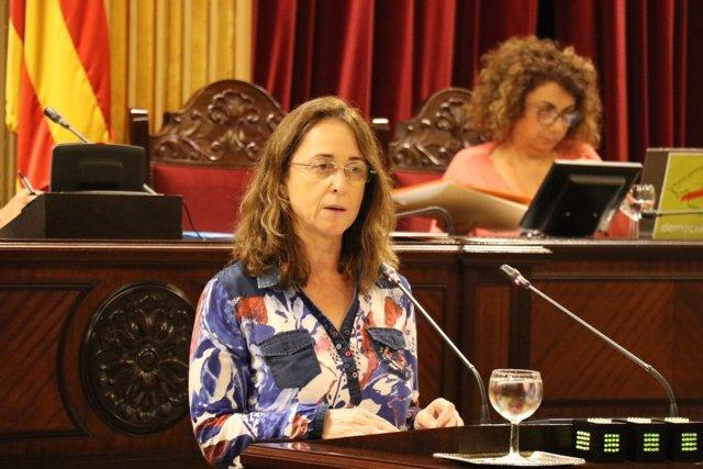 Olga Ballester interviene en el pleno