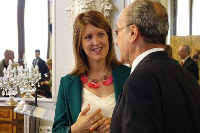Carmen Casero y Francisco de la Torre
