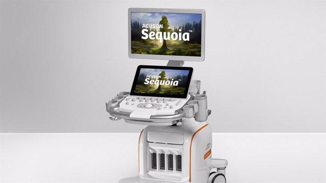 Ecógrafo 'Acuson Sequoia', de Siemens Healthineers