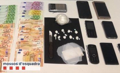 Detenido un hombre por vender cocaína en Artesa de Segre (Lleida)