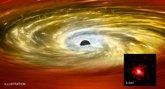 Foto: Las 'pepitas rojas' resultan ser oro galáctico para los astrónomos