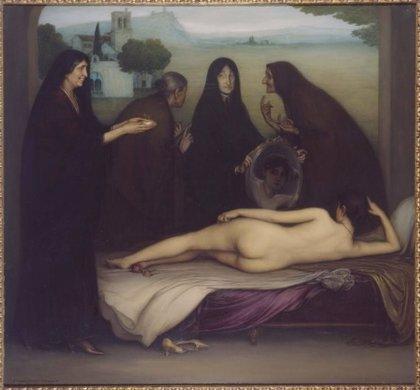 El cuadro 'El Pecado' de Julio Romero de Torres se expone en San Antonio (Texas)