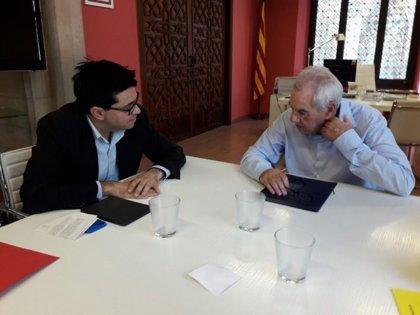 Pisarello y Ernest Maragall se reúnen para impulsar la proyección exterior de Barcelona