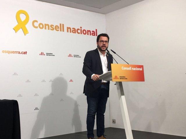 Pere Aragonès, ERC
