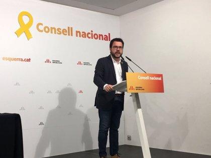 """Aragonès dice que el Rey está cuestionado en Catalunya porque """"ha abandonado"""" a los catalanes"""