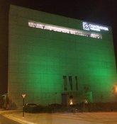 Foto: El Centro Cultural Memoria de Andalucía, de verde para visibilizar la lucha contra la ELA