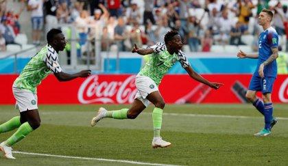Musa y Nigeria llaman a octavos y resucitan a Argentina