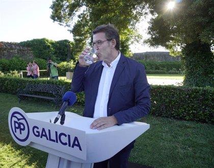 Feijóo irá al acto de Casado en A Coruña y prevé acompañar también al resto de candidatos que visiten Galicia