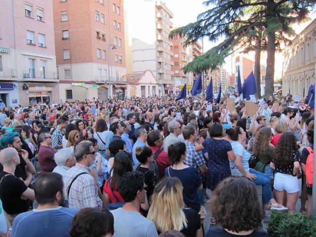 Concentración Contra 'La Manada' En Logroño