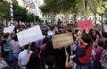 MILES DE PERSONAS PROTESTAN EN ANDALUCIA POR LA LIBERTAD DE LOS MIEMBROS DE LA MANADA