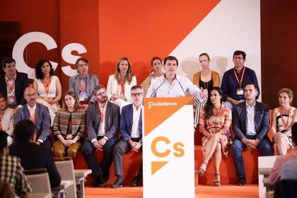 Ciudadanos cuenta ya con 160.000 inscritos en España, 10.000 más que el pasado mes de marzo