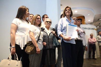 Cospedal realizará una treintena de actos en toda España durante su campaña bajo el lema 'Primero el PP'