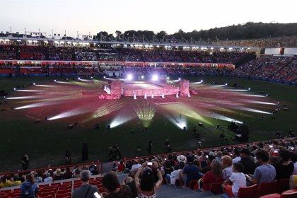 Los Juegos Mediterráneos arrancan en un 'Impluvium' con una ceremonia histórica