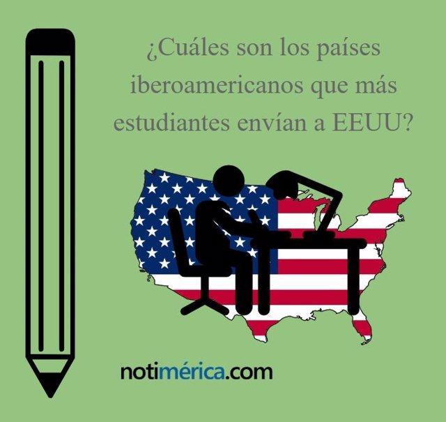 Estudiantes iberoamericanos en EEUU