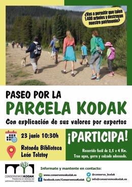 Marcha contra la urbanización de la parcela Kodak