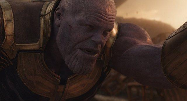 Thanos en Vengadores 4 o Infinity War