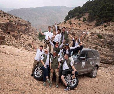 Macarena Gómez y Fonsi Nieto ganan la Land Rover Discovery Challenge