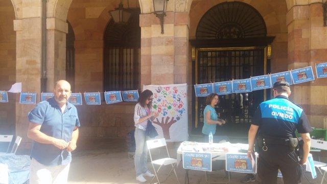 Protesta de SOS Viejo Hospital