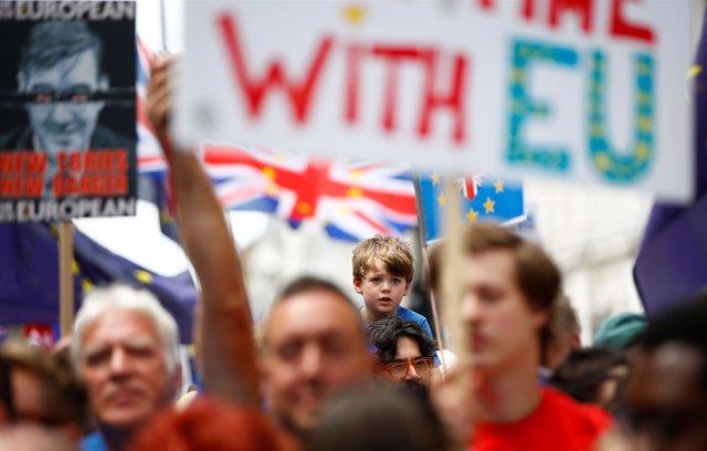 Marcha pro UE en Londres