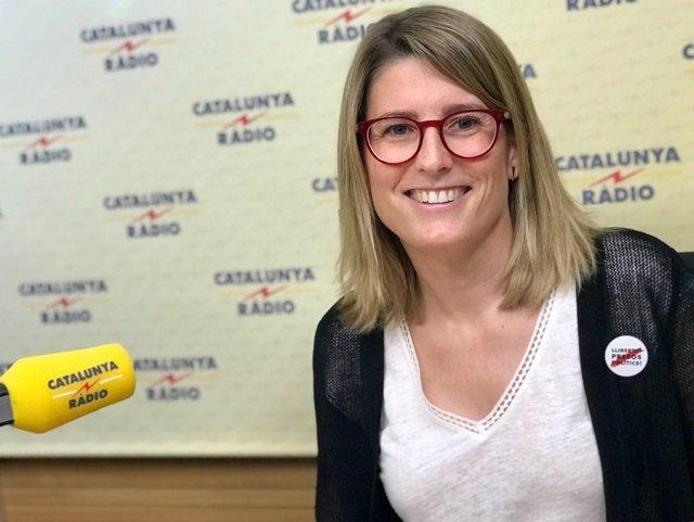 Elsa Artadi en Catalunya Ràdio