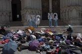 Foto: Cuenca recrea la evacuación de la ciudad ante la amenaza de contaminación nuclear