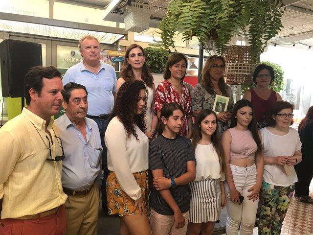 Entrega de premios del IV Concurso andaluz de poesía 'Tintas para la vida'