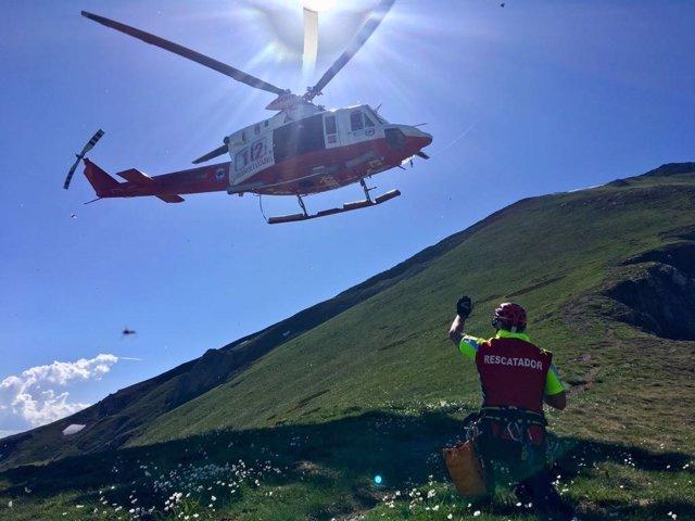 Rescate en el Pico Coriscao