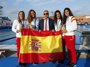 España logra 16 medallas, 10 en natación, en la primera jornada de Tarragona 2018