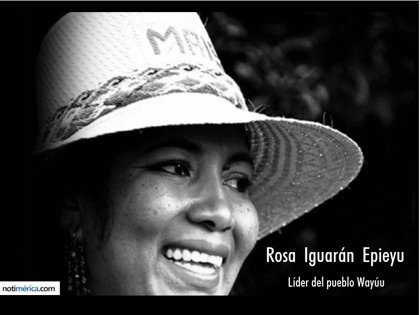 ¿Quién es Rosa Iguarán, la actual líder del pueblo Wayúu?