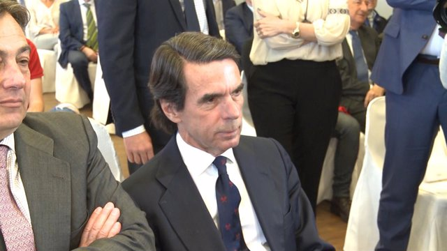 José María Aznar declara en la clausura del II Foro Ideas Faes