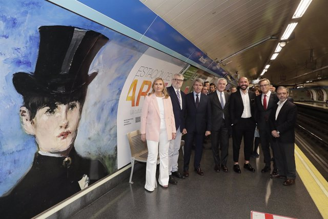 La estación de Metro de Atocha pasará a llamarse Estación del Arte