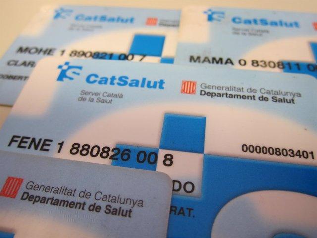 Tarjeta sanitaria. Tarjetas sanitarias en Catalunya. CatSalut