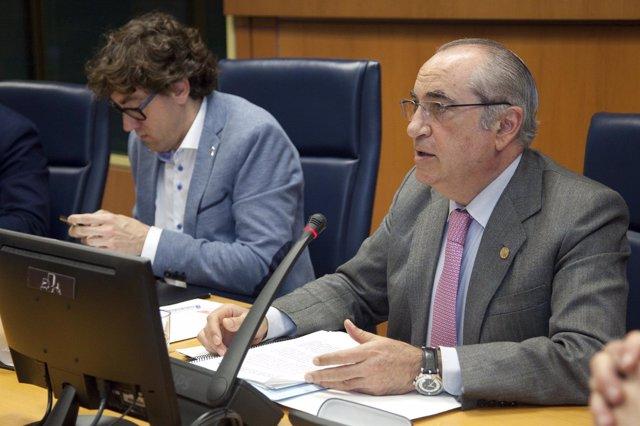 Iñaki Arriola en Comisión parlamentaria