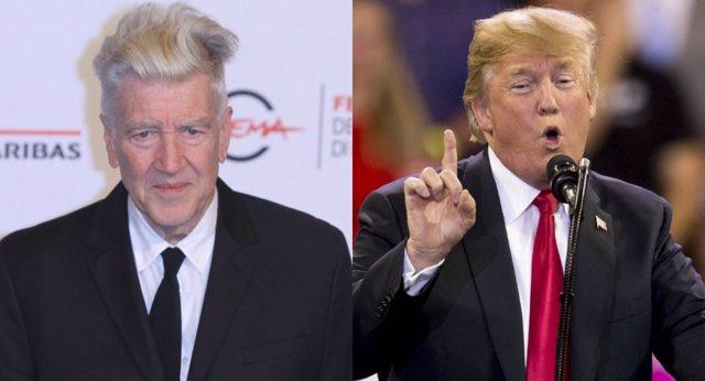David Lynch y Donald Trump