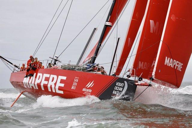 'MAPFRE' Español En La Volvo Ocean Race
