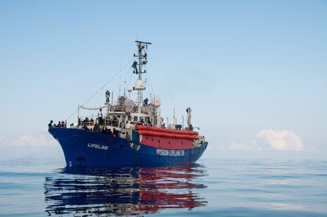 Barco de rescate Lifeline
