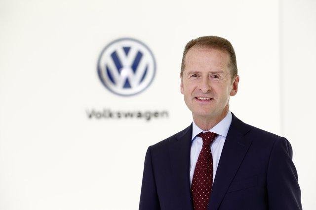 Herbert Diess, consejero delegado de Volkswagen