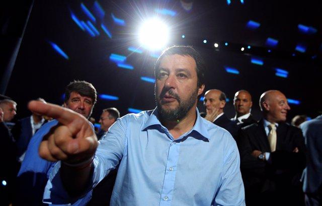 Foto de archivo de Matteo Salvini