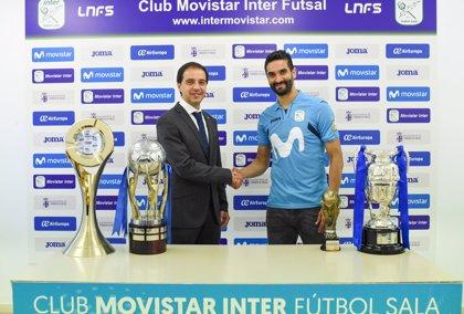 Humberto renueva con el Movistar Inter hasta 2020