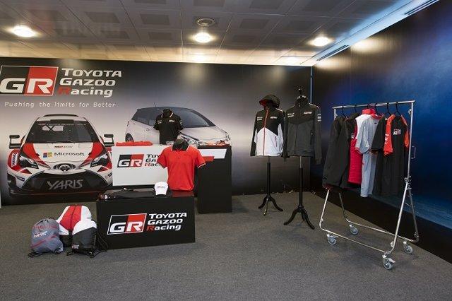 Nueva boutique de merchandising de Toyota