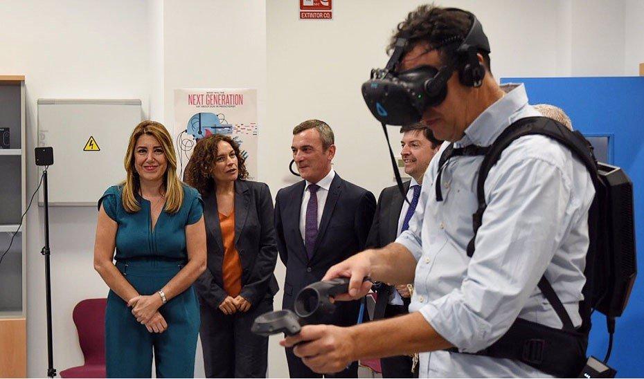 Foto: Susana Díaz avanza la creación del programa Talentia Sénior para incorporar investigadores en las universidades públicas (JUNTA DE ANDALUCÍA)