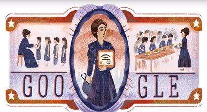 Google dedica un 'doodle' a Eloísa Díaz, la primera médica-cirujana de Chile y de toda Iberoamérica