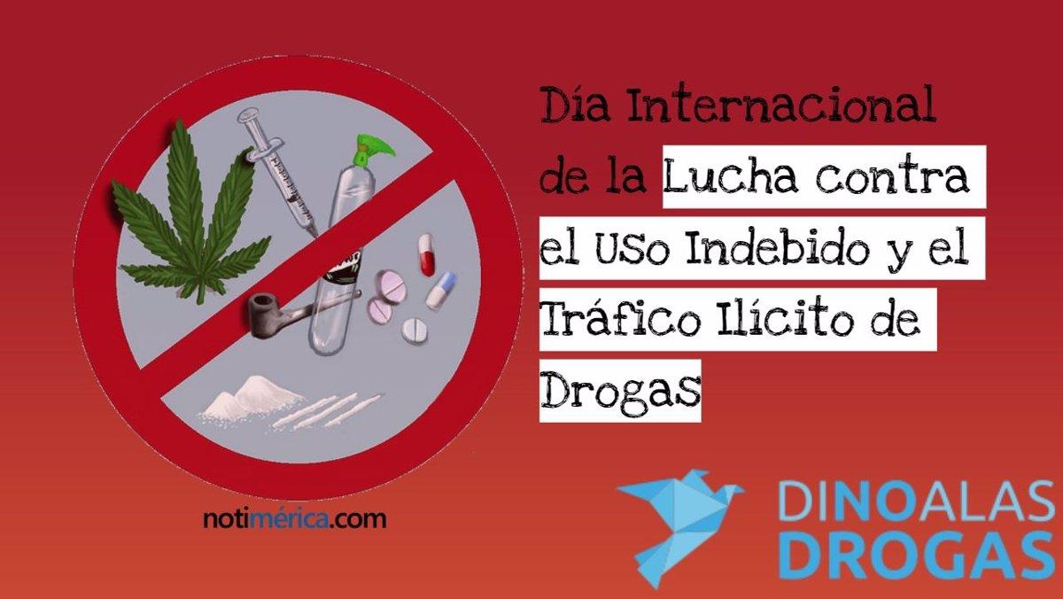 26 De Junio Día Internacional De La Lucha Contra El Uso