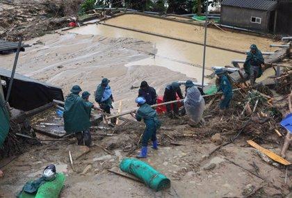 Asciende a 15 el número de muertos por las fuertes inundaciones en el noroeste de Vietnam