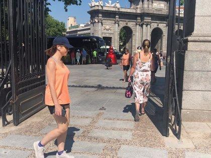 La alerta por calor afecta este martes a Zaragoza, Cuenca y Madrid, con máximas de hasta 36 grados