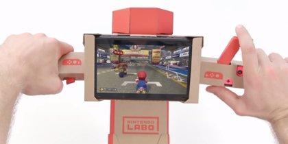 Nintendo extiende la compatibilidad de Nintendo Labo a Mario Kart Deluxe 8