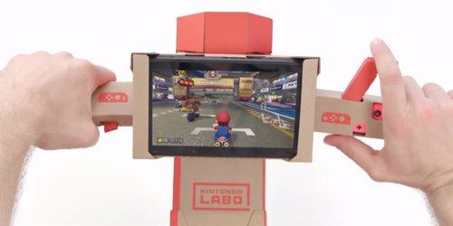 Mario Kart y Nintendo Labo